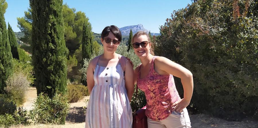 My vacations in Provence, Carmen Reivelo