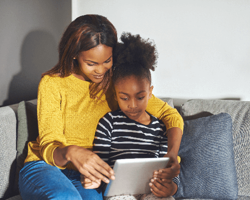 French for parents + children
